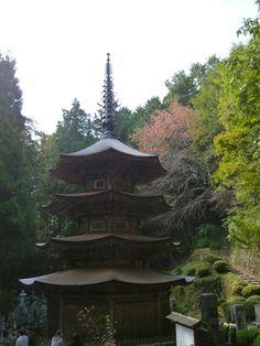 """""""Anrakuji"""" (Tempio), Bessyo-Onsen(Terme), Ueda Nagano Japan (Ottobre)"""