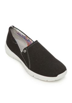 Easy Spirit Black GetFlex Shoes - Available in Extended Sizes