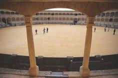 Zwiedzanie areny walk byków w Rondzie - Plaza de Toros
