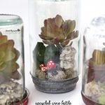 Drink Wine, then Make Tiny Magical Upcycled Worlds