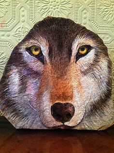 wolf...very nicely done painting
