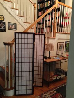 Redirect Traffic With A Room Divider By Entryways Or Stairs Shoji Screen
