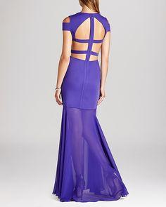 BCBGMAXAZRIA Gown - Ava Cutout