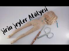 Tığ İşi, Amigurumi Telli Zayıf Bebek Yapılışı 4 ( Bacak Birleştirme ) - YouTube