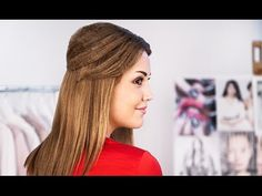Hair Tutorial: Sophisticated Crimped Hairstyle