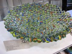 This is by Nancy Gatland, of  Gatland Design a glass artisan from Sechelt British Columbia,Canada.