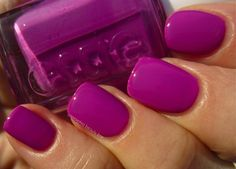 """Essie """"DJ Play That Song"""" Unlike any other color I have! My favorite Essie color ever! Plum Nails, Purple Nail Polish, Essie Nail Polish, Fancy Nails, Nail Polish Colors, Love Nails, How To Do Nails, Pretty Nails, Opi"""
