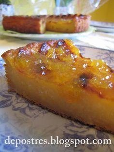 Tarta de manzanas. Esta receta es de mi madre, y es la mejor que he comido, desde luego he probado muchas y para mi esta es la mejor tarta de manzana sin duda...