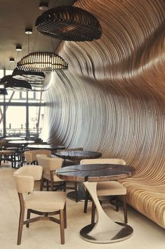 Contemporary restaurant design – Don Café House, Kosovo Deco Design, Cafe Design, House Design, Design Design, Lobby Design, Design Blogs, Design Websites, Design Hotel, Graphic Design