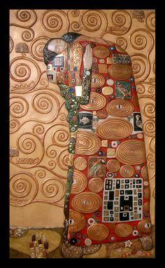 El Abrazo de Klimt