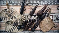 Cannibal knives, woven fans and traditional tapa cloth (Photo: Lonely Planet Images / Liz Thompson) Places To Travel, Places To Go, Travel To Fiji, People Of The World, South Pacific, Lonely Planet, Where To Go, Culture, Fabric