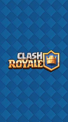 Wallpaper Clash Royale con logo
