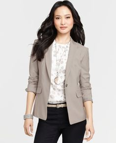 Tan Blazer...Tall Tropical Wool Maxwell Jacket