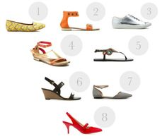 8 Summer-Worthy Shoes