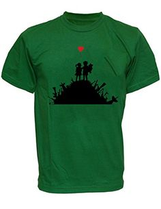 SODAtees Peace freedom war gun victory Men's T-SHIRT graphic tee - Green - Small SODAtees http://www.amazon.com/dp/B00XUNJFGY/ref=cm_sw_r_pi_dp_UlPwvb15Z8DSX