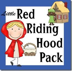 *FREE* Little Red Riding Hood Pre-K Worksheets