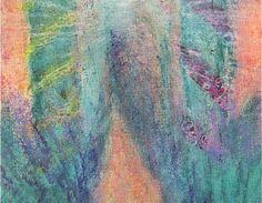 Valon polulla -postikortti Pastellikuva: Sinikka Tompuri (Sara)