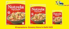Online Grocery Store Noida – kiraanastore.com Buy Ruchi Soya Chunk 200gm at Rs. 39 from our online grocery store in Delhi NCR.We are providing free shipping and fast delivery to our customers.  For more details - 0120-4509840