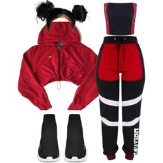 Keep Sweating Me A fashion look from December 2017 featuring NIKE sweatshirts. Browse and shop related looks. Swag Outfits For Girls, Cute Swag Outfits, Teenage Girl Outfits, Cute Comfy Outfits, Teen Fashion Outfits, Retro Outfits, Stylish Outfits, Work Outfits, Mode Kpop