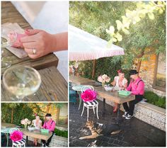Downtown Vegas Wedding by Floral Pop with doughnuts - By Rachel Anne Garcia of Brilliant Imagery, a boutique wedding photography studio specializing in destination weddings and creative day after sessions.