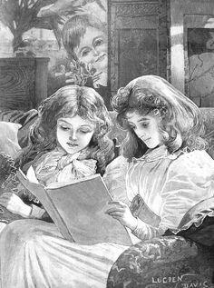 Victorian Illustration, Mistletoe, Mona Lisa, Artwork, Painting, Pose Reference, Work Of Art, Auguste Rodin Artwork, Painting Art