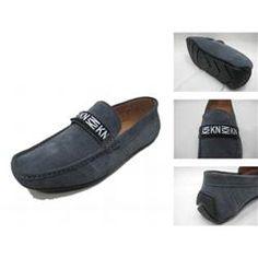 Michael Kors Suede Logo Flat Large Grey Shoes