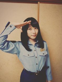 桜井日奈子まとめ : Photo Female Police Officers, Cute Girls, Kawaii, Actresses, Actors, Costumes, Crop Tops, Denim, Celebrities