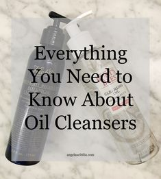 why your skin needs an oil cleanser
