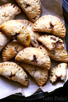 Pecan hand pies may be my very favorite way to eat pie.