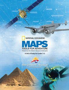 Maps Unit of Study--free