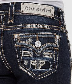Rock Revival Karla Straight Stretch Jean - Women's Jeans | Buckle