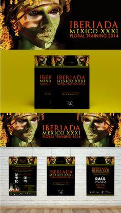 Diseño para Iberiada México 2014