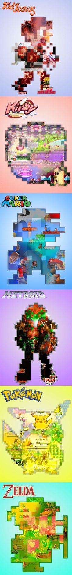 The Evolution of Nintendo Games