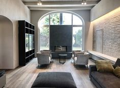 House MRM in Mantua Interior and Lighting project Living room details