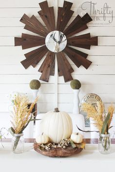 Thrifty and Chic - A Neutral Fall Home Tour