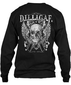 D.I.L.L.I.G.A.F Skull and Guns