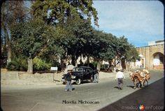 Fotos de Morelia, Michoacán, México: Acueducto 1950