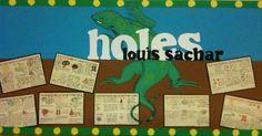 003 Holes by Louis Sachar classroom display Teacher tips