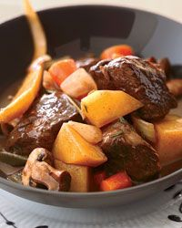 Short Rib Stew Recipe on Food & Wine