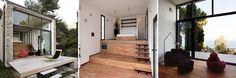 Ristrutturazione piccola villa a 3 livelli in Liguria. Un mix rustico-moderno in 35 mq. Design Studioata.