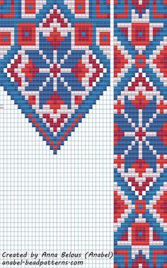 Схема гердана - станочное ткачество / гобеленовое плетение