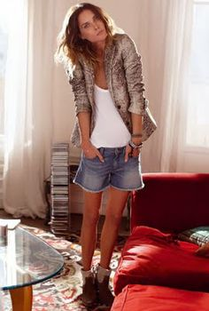#outfits  #shorts  #Erin Wasson