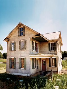 Wait until you see what this farmhouse looks like after a full renovation!