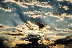 Sunrise from Scottsdale, AZ on 8/10/13 :)