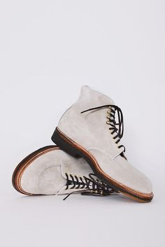 Alden Indy Boot in Suede Marble for Très Bien Shop