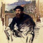 Self Portrait In His Atelier 1884 Claude Monet