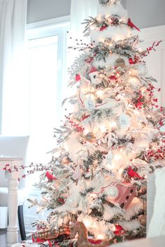 Craftberry Bush | Christmas Home Tour Part 2 | http://www.craftberrybush.com