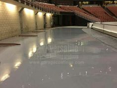 1st Place $100 Winning Photo – Ron of Concrete Technology sent in this shot of a project at the Honda Center  This concrete floor was coated with our 4195 Direct to Concrete Epoxy and then topcoated with our 4800 100% Solids Epoxy Flooring at the rear section of the Honda Center in Anaheim. #EpoxyFlooring #DecorativeConcrete #EpoxyFloor #Anaheim #HondaCenter