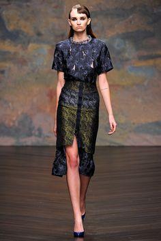 Michael van der Ham Fall 2013 Ready-to-Wear Fashion Show