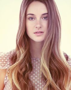 Shailene Woodley - She is not who I pictured while I was reading, but I think she is going to completely make Divergent.